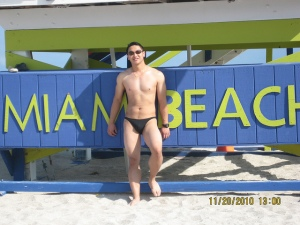 Typical Beach-goer in Miami
