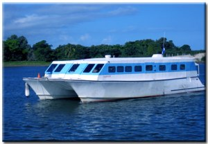 the 'Utila Princess'.  Or so they call it.
