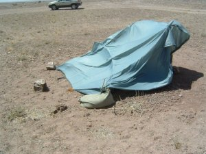 yes, that WAS my very own tent.  This is why I was sleeping in the hammock.