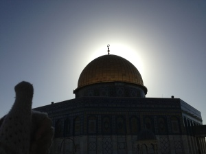The Dome of the Rock.  Dang.