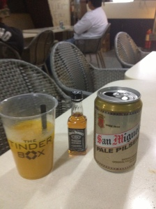 Drinking free Jack n' mango in Manila.  Not sure I'm getting home...