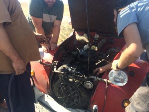 Fuel pump. Indeed goooooone.