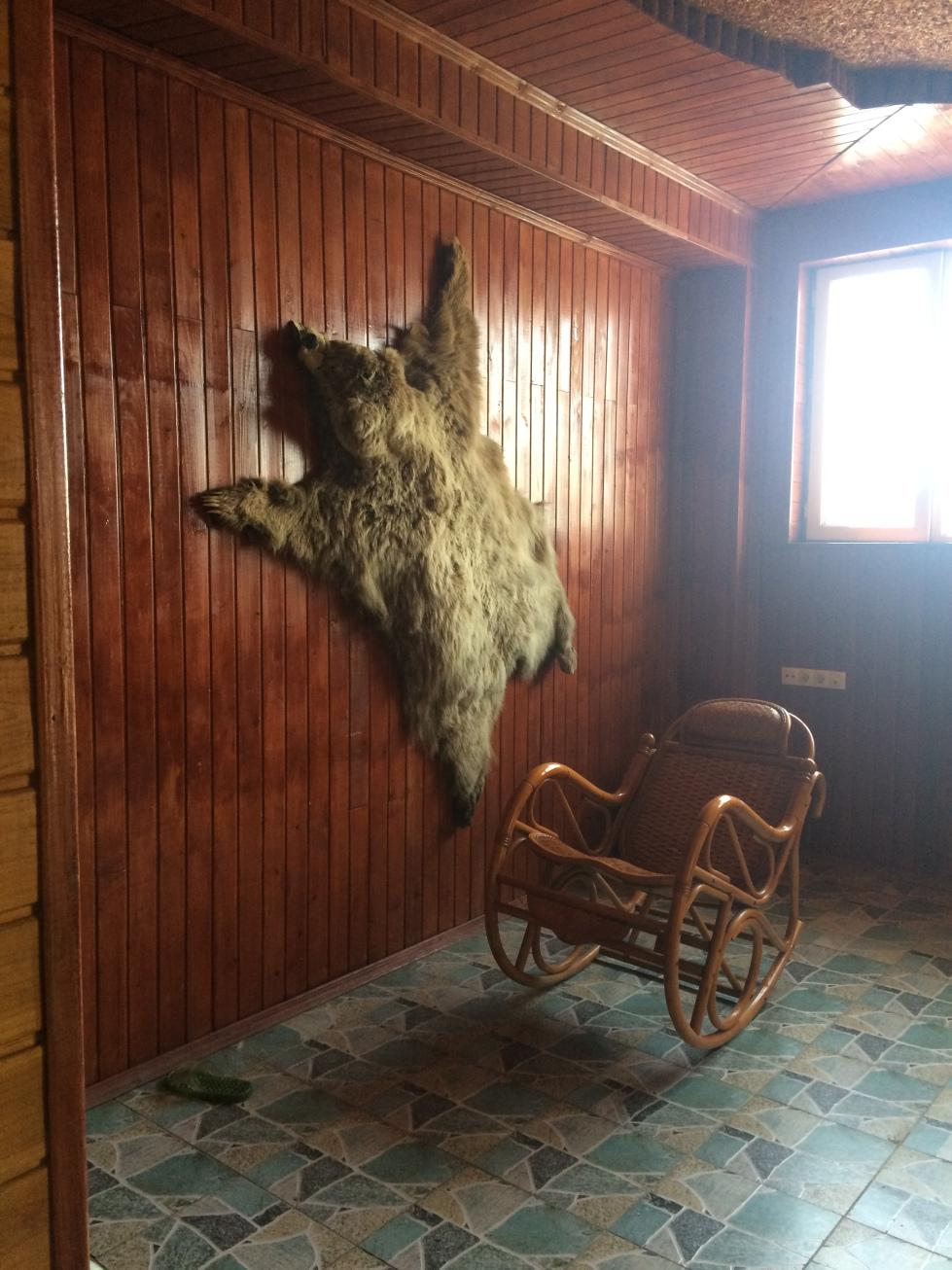 Dead things in Tajikistan...